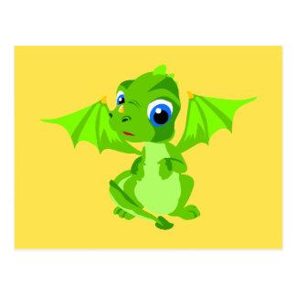 Dragón tímido del bebé