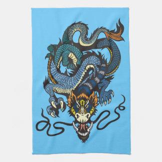 dragón toalla