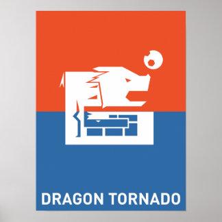 Dragon tornado poster