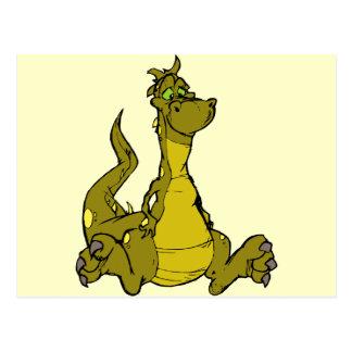 Dragón torpe postales
