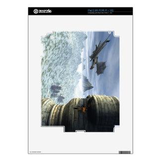 Dragon Tower iPad 2 Decal