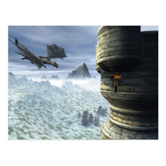 Dragon Tower Postcard