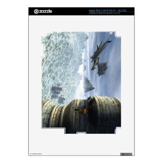 Dragon Tower Skin For iPad 3
