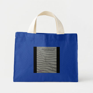 Dragon Tracks Mini Tote Bag
