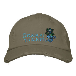 Dragon trainer embroidered baseball cap