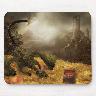 Dragon Treasure Mouse Pad