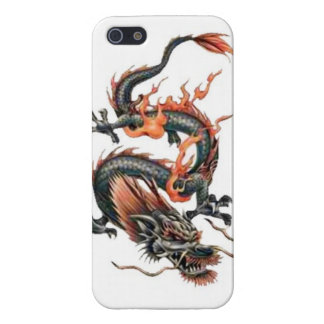 Dragon tribal art tattoo cool color design cases for iPhone 5