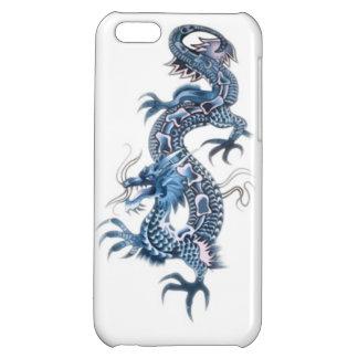 Dragon tribal art tattoo cool color design iPhone 5C cases