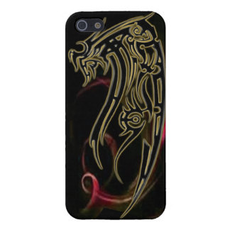 Dragon tribal art tattoo cool color design iPhone 5 covers