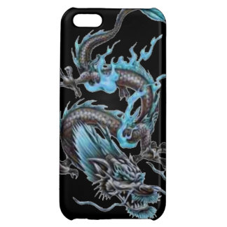 Dragon tribal art tattoo cool color design iPhone 5C covers