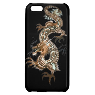 Dragon tribal art tattoo cool color design cover for iPhone 5C