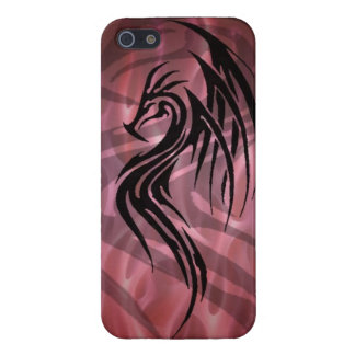 Dragon tribal art tattoo cool color design cover for iPhone 5