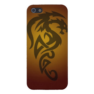 Dragon tribal art tattoo cool color design covers for iPhone 5