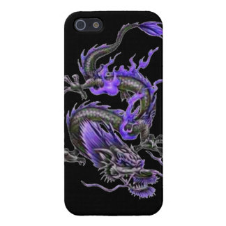 Dragon tribal art tattoo cool color design case for iPhone 5