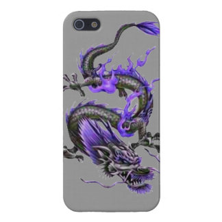 Dragon tribal art tattoo cool color design iPhone SE/5/5s cover