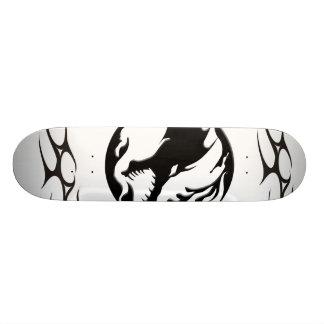 dragon tribal skateboard