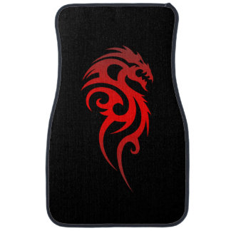Dragon Tribal Symbol Car Mat