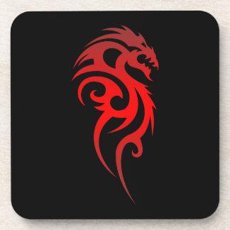 Dragon Tribal Symbol Drink Coaster