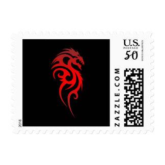 Dragon Tribal Symbol Postage