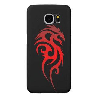Dragon Tribal Symbol Samsung Galaxy S6 Cases