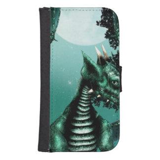 Dragón triste billeteras para teléfono