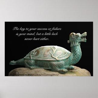 Dragon turtle success poster