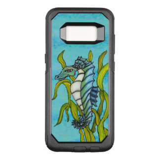 Dragon Type Blue Green Seahorse Floating Seaweed OtterBox Commuter Samsung Galaxy S8 Case