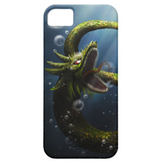 Dragon under the water- cover iphone5