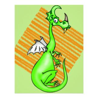"""Dragón vacilante folleto 8.5"""" x 11"""""""