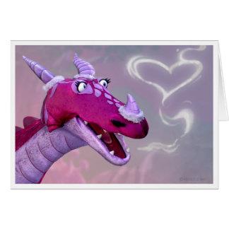 Dragon Valentine's Day Card