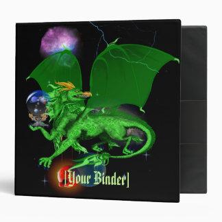 """Dragón verde binder_2_back.v4. del universo carpeta 2"""""""