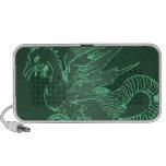Dragón verde de Durer Altavoz De Viaje