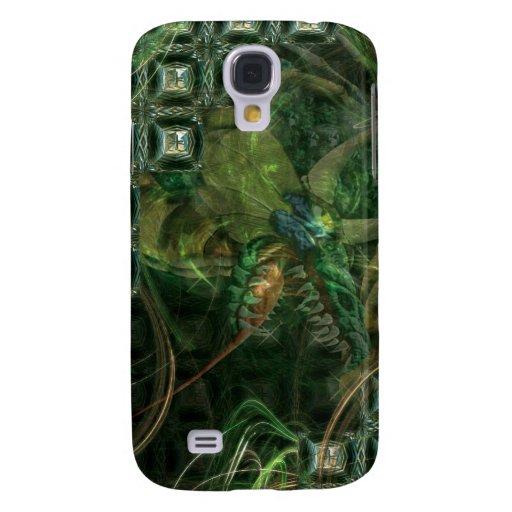 Dragón verde de la tecnología
