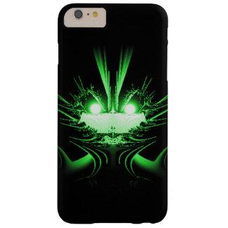 Dragón verde funda de iPhone 6 plus barely there