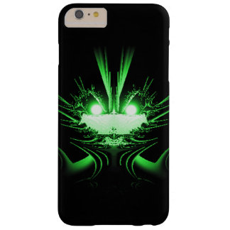 Dragón verde funda para iPhone 6 plus barely there
