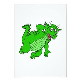 Dragón verde lindo comunicado personal