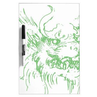 Dragón verde pizarra