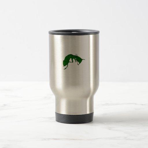 dragón verde que vuela outline.png tazas de café