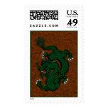 Dragón verde sellos
