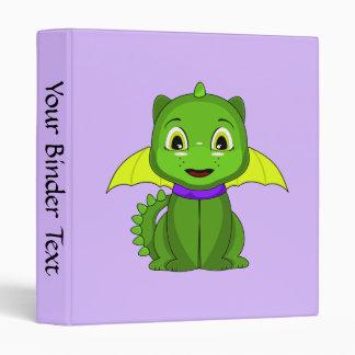 Dragón verde y amarillo de Chibi