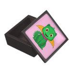 Dragón verde y anaranjado de Chibi Cajas De Regalo De Calidad