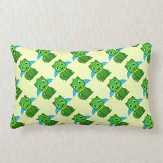 Dragón verde y azul de Chibi Cojines