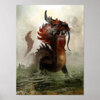 Dragón vietnamita póster