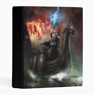 Dragon Viking Ship Mini Binder
