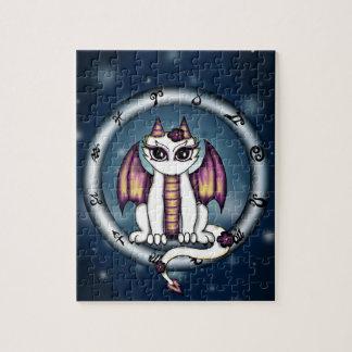 Dragon Virgo Zodiac Jigsaw Puzzles