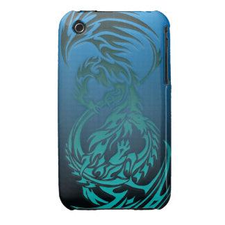 dragon VS phoenix iphone case iPhone 3 Covers