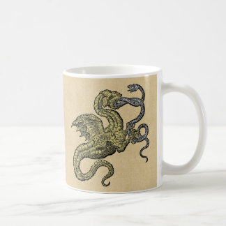 Dragon vs Snake Coffee Mug