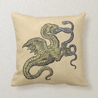 Dragon vs Snake Pillows