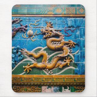Dragon Wall Mouse Pad