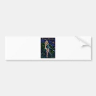 Dragon Warrior Bumper Sticker